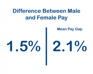 Difference Between Male Female Pay Percentage